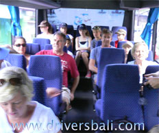 Guest at bus 25 seats