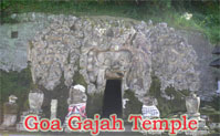 goa gajah temple at bedulu