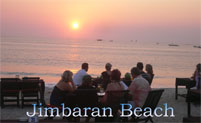 dinner with seafood at jimbaran beach