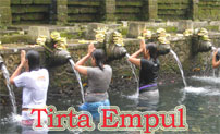 spring water at tirta empul