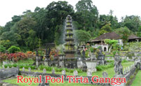 royal pool at tirta gangga