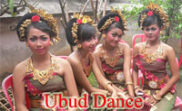 balinese dance at ubud