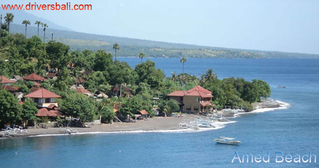 amed beach east part bali