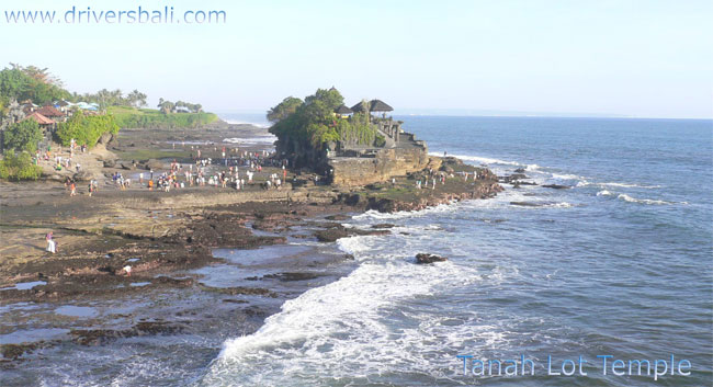 tanah lot temple located on the sea of tabanan bali