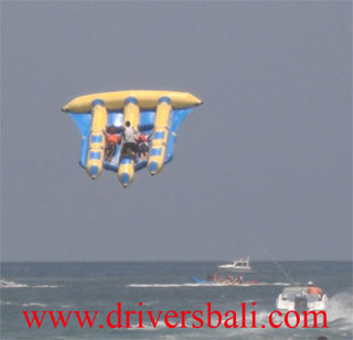 flying fish at tanjung benoa bali