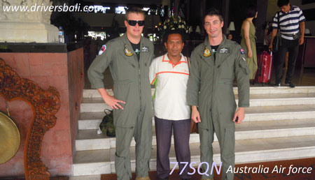 77SQN from Australian air force at The patra hotel bali